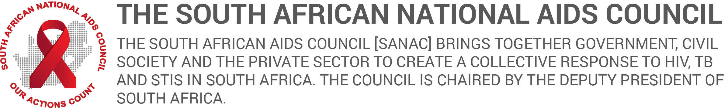 South African National AIDS Council | SANAC